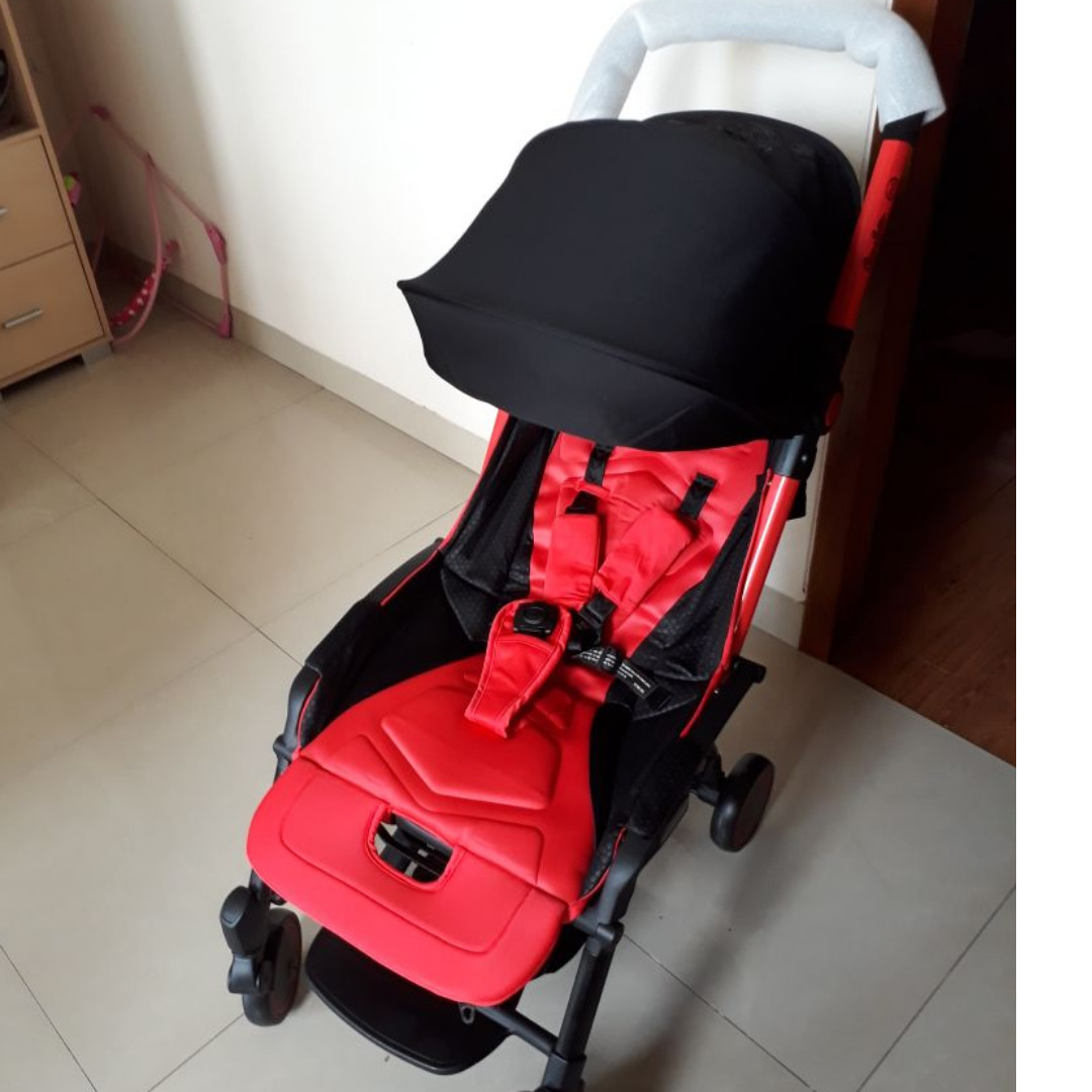 Stroller Cocolatte Stroller CL N700 Otto Pali Red Newww