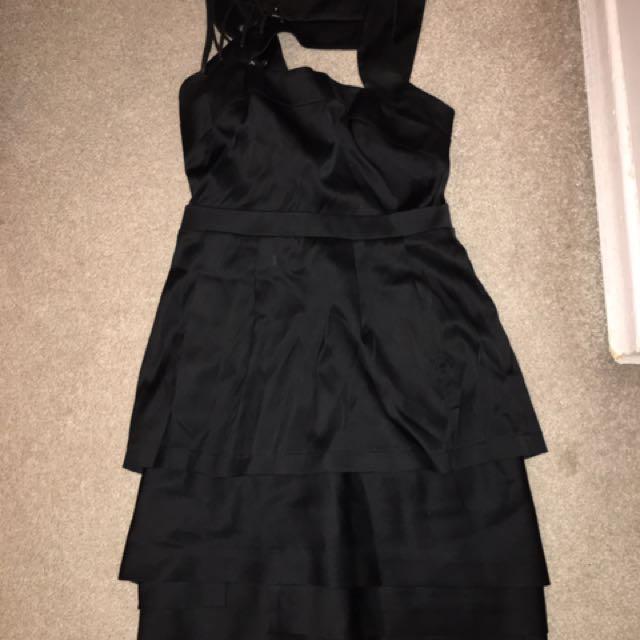 Super cute BCBGMAXAZRIA Black dress