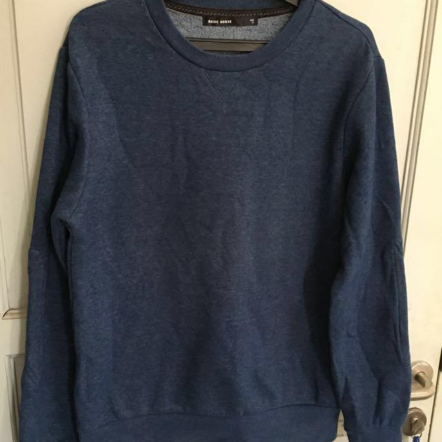 Sweater Basic House Blue Size M