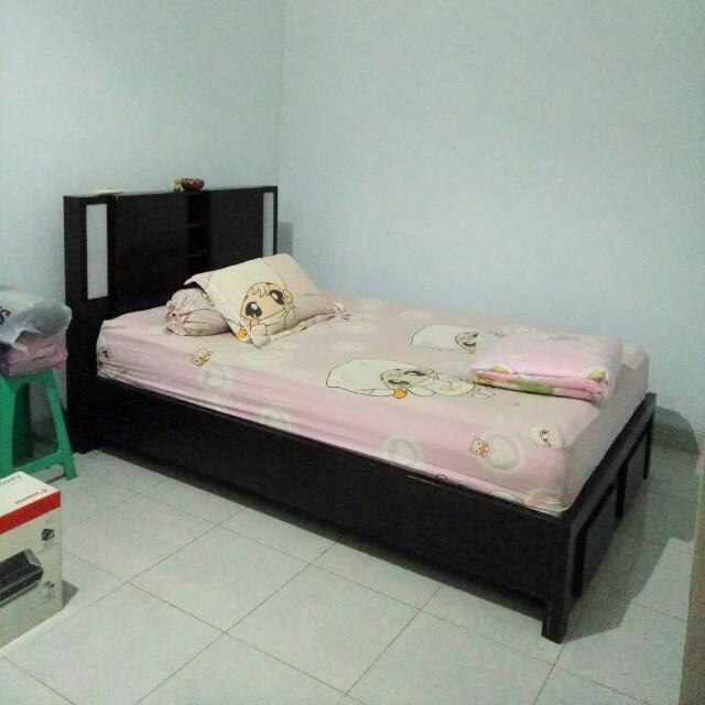 Tempat Tidur anak (kayu) include matras