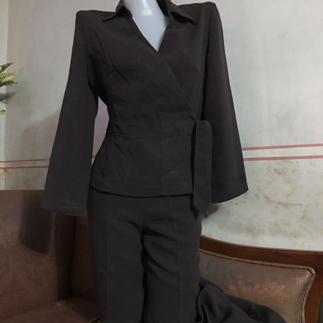 Terno blazer & slacks