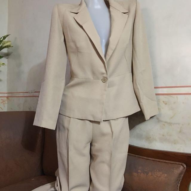Terno-blazer & slacks