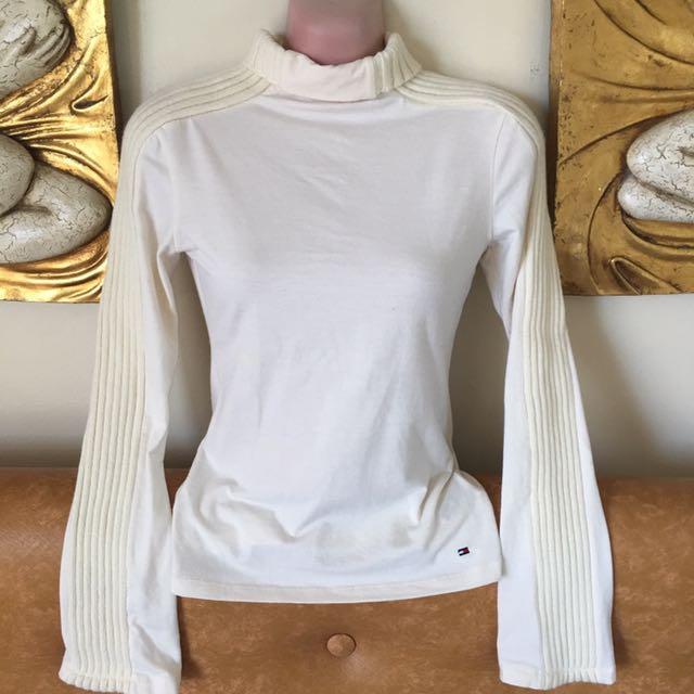 tommy turtleneck sweatshirt