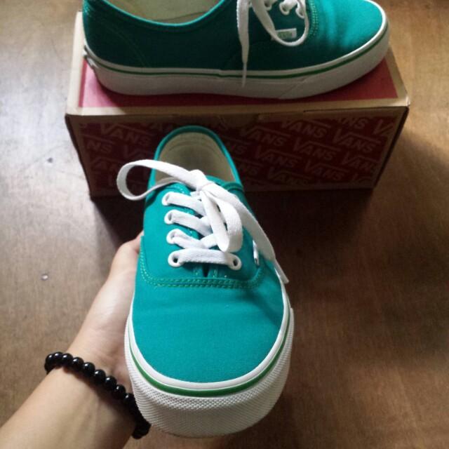 VANS original (blue green), Women's