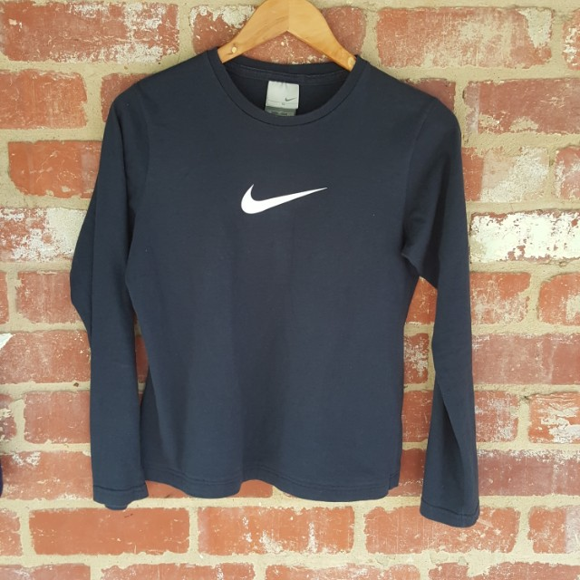 Vintage 90s Nike Top Made In AUS - Women's Long Sleeve Shirt