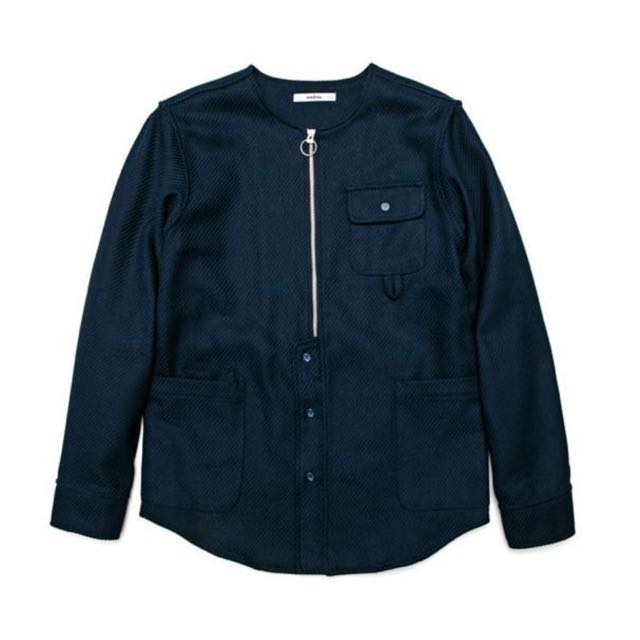 wisdom® Apparel 2015 AW Collection | Laborer LS Shirt 無領 夾克