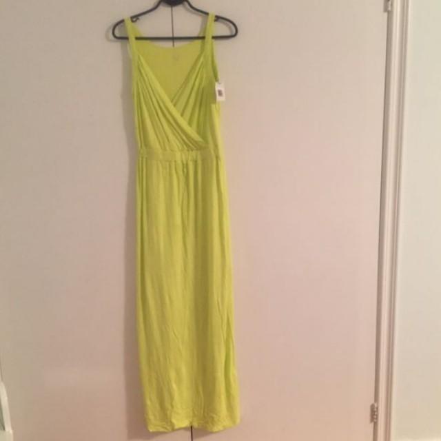women's green strapless dress