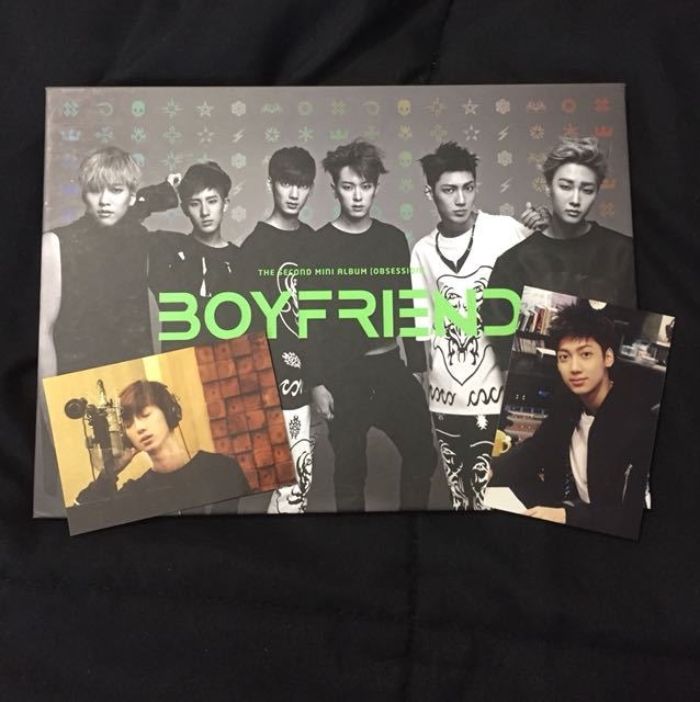WTS BOYFRIEND OBSESSION ALBUM