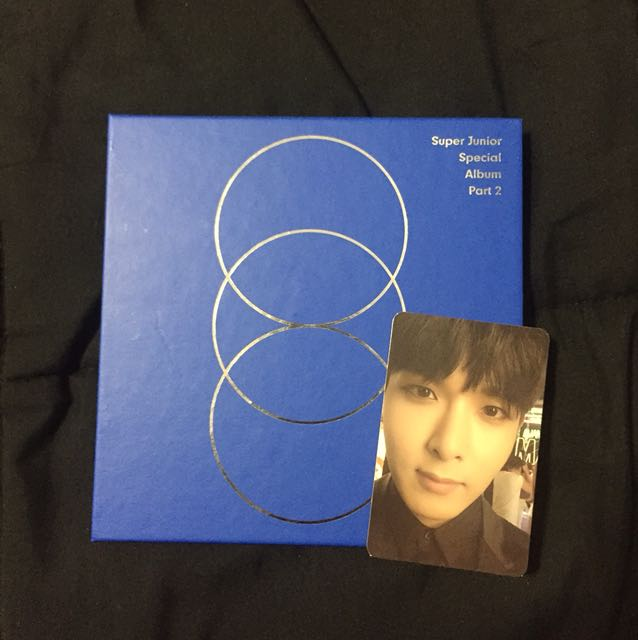 WTS SUPER JUNIOR MAGIC SPECIAL ALBUM PART 2