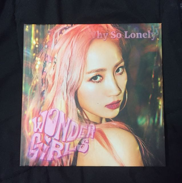 WTS WONDER GIRLS WHY SO LONELY ALBUM YENNY COVER