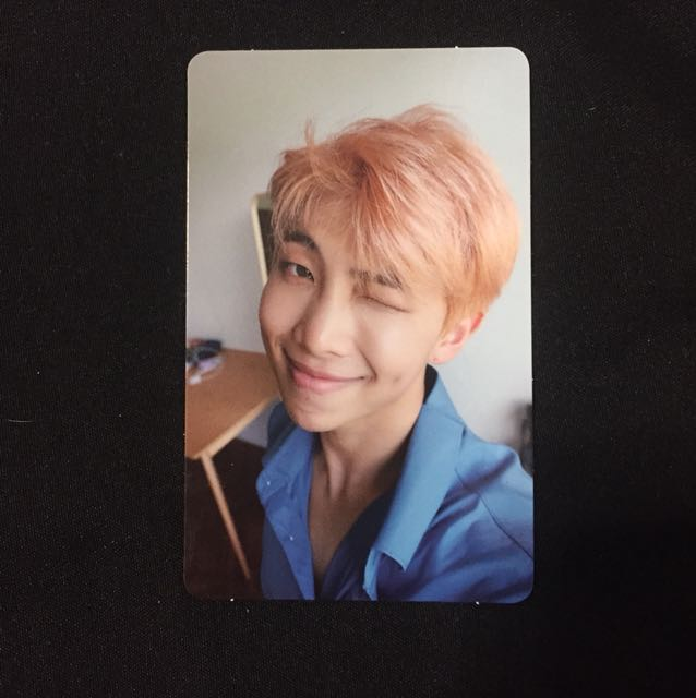 WTT BTS LOVE YOURSELF RAP MONSTER L VER PC