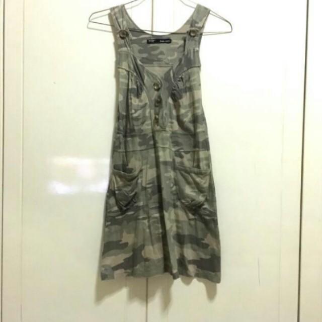 ZARA Army Dress