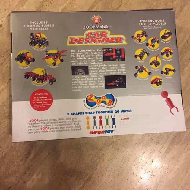 Zoob Mobile Car Designer Toys Games Bricks Figurines On Carousell