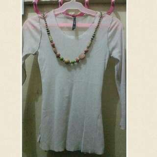 Mesh Longsleeve blouse