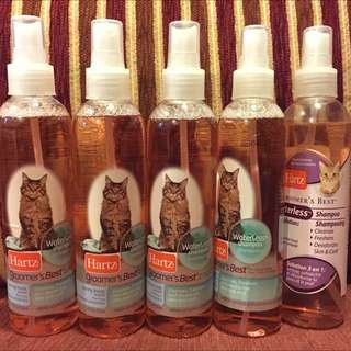 Hartz Waterless/Dry Shampoo For Cat