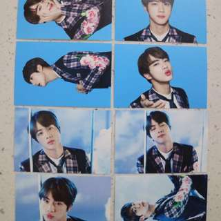 BTS Wings Tour Mini Photocard (ver.1) JIN