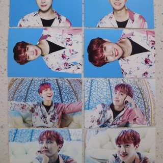 BTS Wings Tour Mini Photocard (ver.1) JHOPE