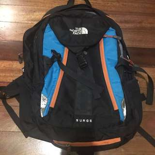 Authentic North Face Surge Backpack (FIXED PRICE!)