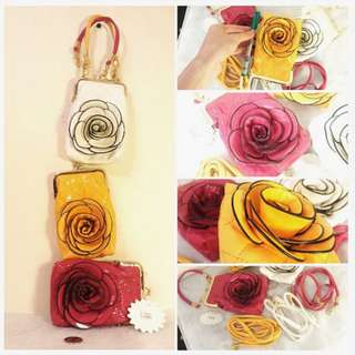 NEW Mini Flower Purses