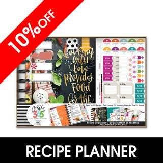[INSTOCK] Happy Planner® Box Kit – CLASSIC – Cooking
