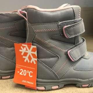 Joe Fresh Kids Winter Boots - Size 9