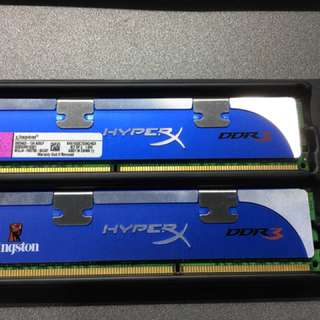 Kingston 2x2GB DDR3-1600 Genesis HyperX