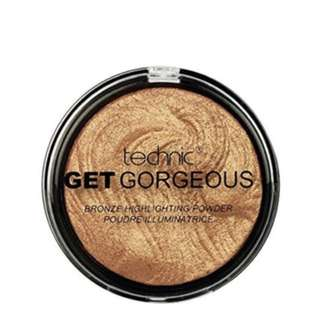 Technic Get Gorgeous 24ct Gold Highlighting Powder