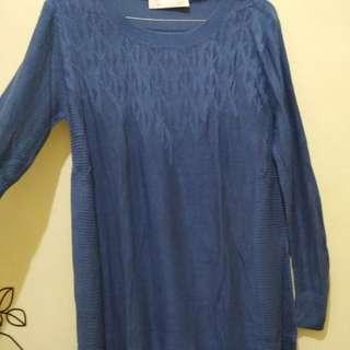 J.Rep Free Blue Sweater / Dress (bekas)