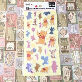 🇯🇵日本購入 * 小熊維尼 燙色 貼紙