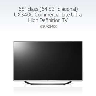 LG 65 inch 4K UHD TV for Sale