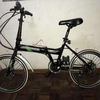 Gta folding bike  21 speed shimano tz