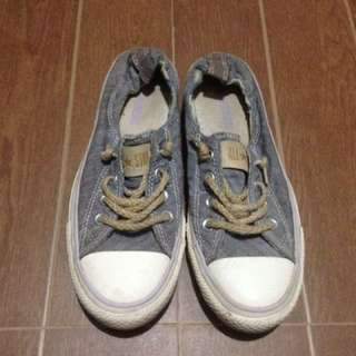 Converse Gray Top-sider