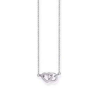 THOMAS SABO INTERLINKING HEART NECKLACE 情侶頸鏈