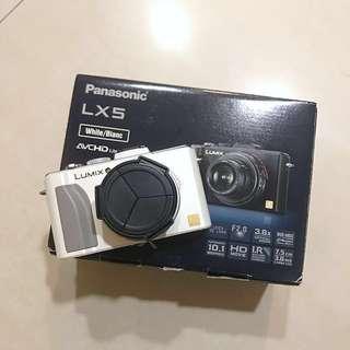 Panasonic DMC-LX5白