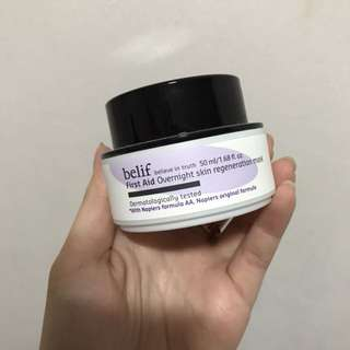Belif First Aid – Overnight Skin Regeneration Mask