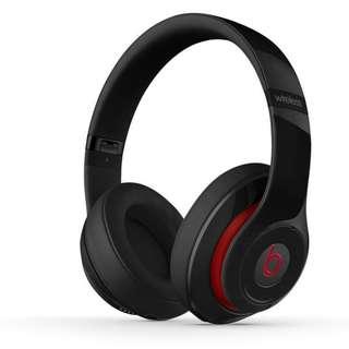 Beats Studio2 Wireless Bluetooth Over-Ear Headphones