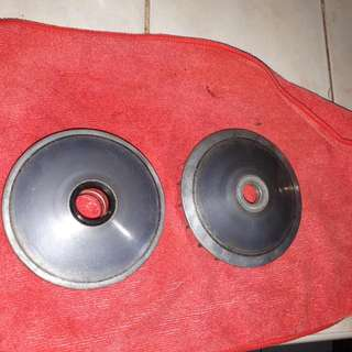 Mio Stock Parts Pulley, Drive Face, Batteries
