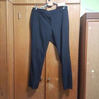 H&M Black Formal Pants