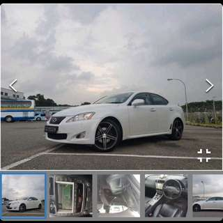 Lexus is250 rental