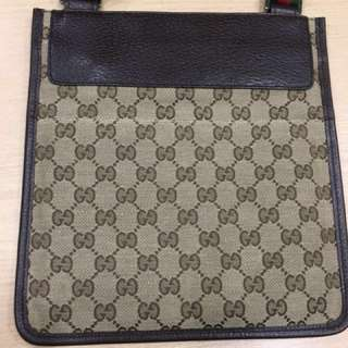 (New) Gucci Slim Messenger Bag
