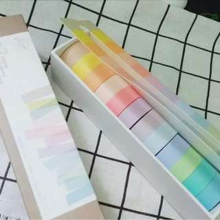 New Arrival Rainbow Washi Tape