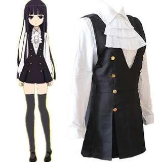 Inu X Boku Ririchiyo School Uniform Cosplay Cosume
