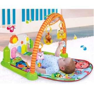 SALE Baby piano tummy gym