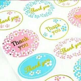 ⚡FLASH SALE⚡Thank You Stickers