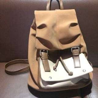Leather Bagpack