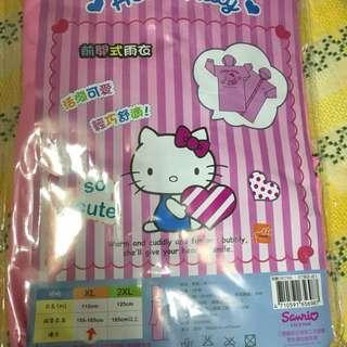 Hello kitty 正版雨衣