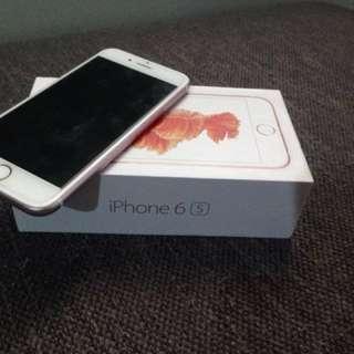 Iphone 6s rosegold 16gb