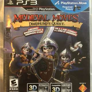 Medieval moves for PS3