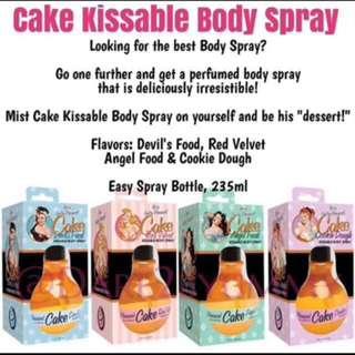 Cake Kissable Body Spray