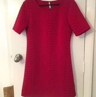 Maya red dress. Size 10